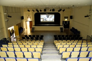 Main Hall new seating completed Feb 2012