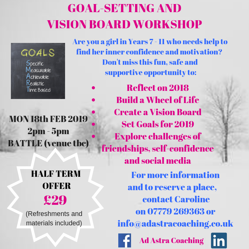 Year 7-11 Goal-setting Vision Board Workshop